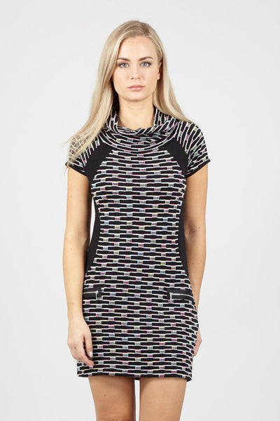 Geo Tunic Dress - Izabel London