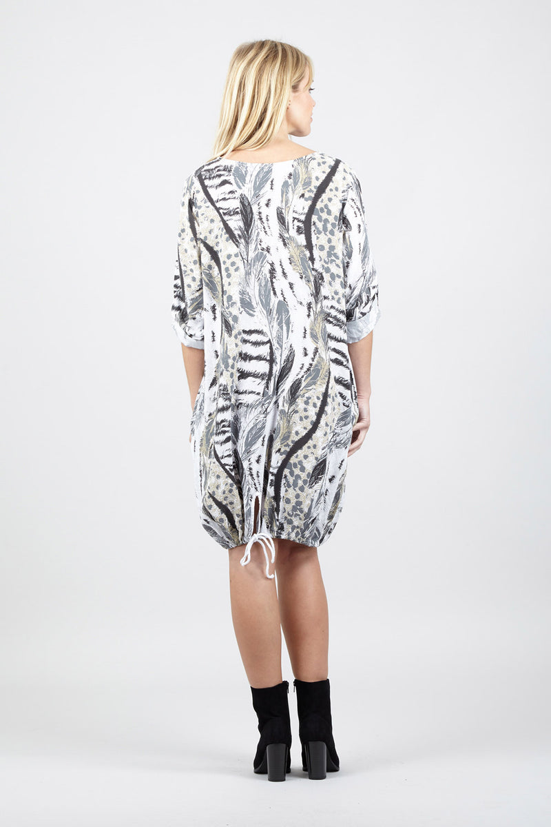 Animal Print Dress - Izabel London