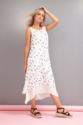 Abstract Shift Dress