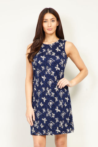 Frill Neck Dress