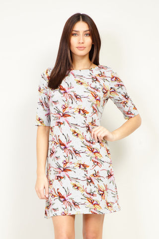 Frill Detail Shift Dress