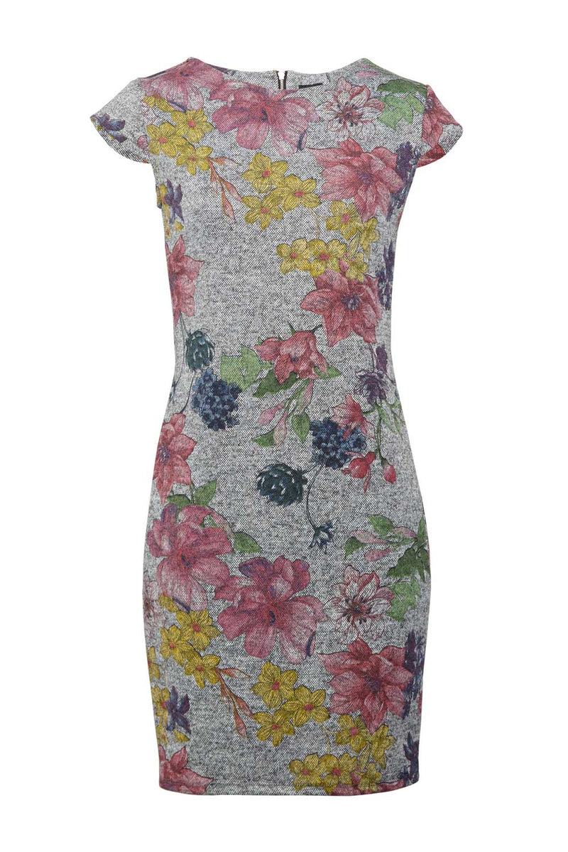 | Floral Jersey Dress | Izabel London