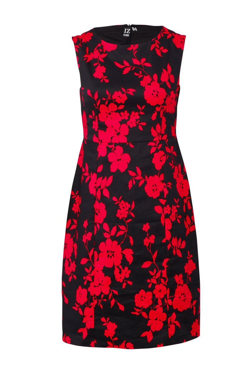Floral Shift Dress - Izabel London