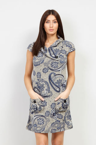 Mosaic Shift Dress