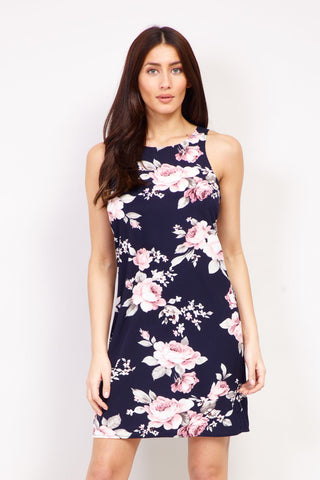 Floral Bodycon Mini Dress