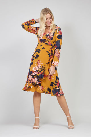 Spring Floral Bardot Dress
