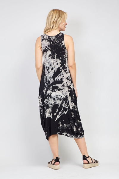 Tie Dye Maxi Dress - Izabel London