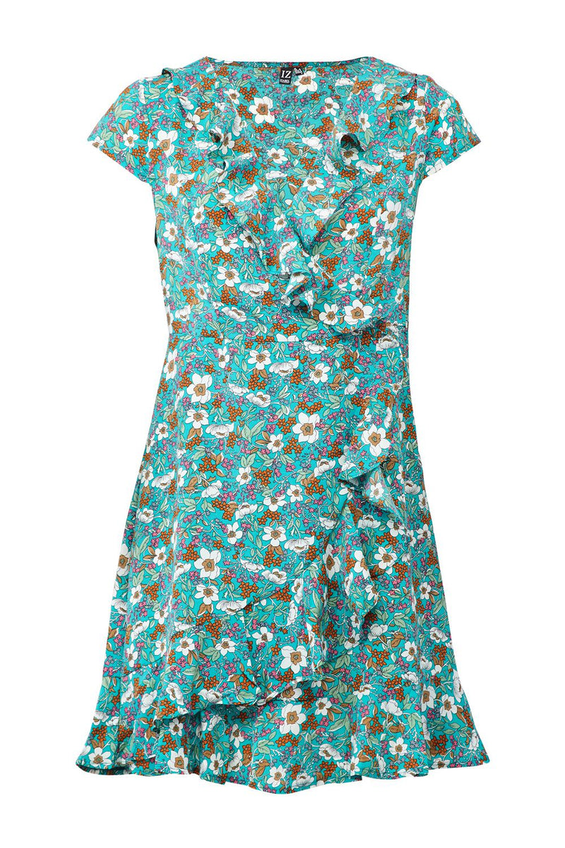 | Flirty Floral Wrap Dress | Izabel London