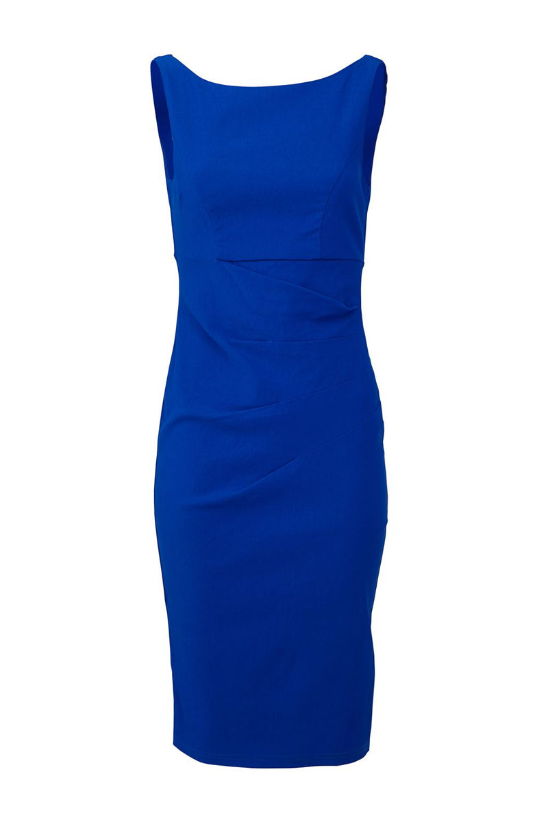 Blue | Fitted Bodycon Dress