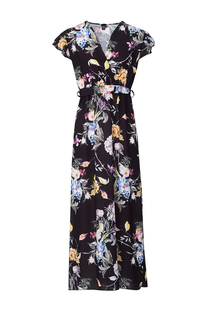 | Floral Wrap FrontMaxi | Izabel London