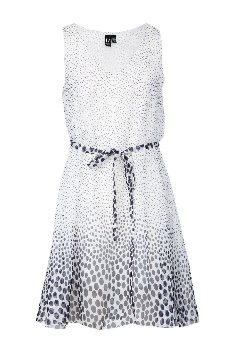 White | Polka Dot Skater Dress
