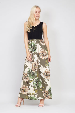 Ditsy Floral Maxi Dress