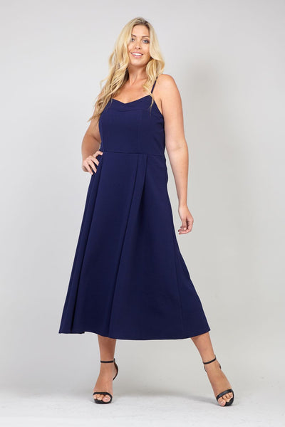 Curve Strappy Maxi Dress