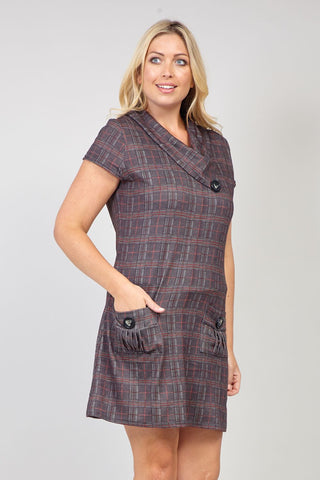 Tie Waist Dress With Pockets