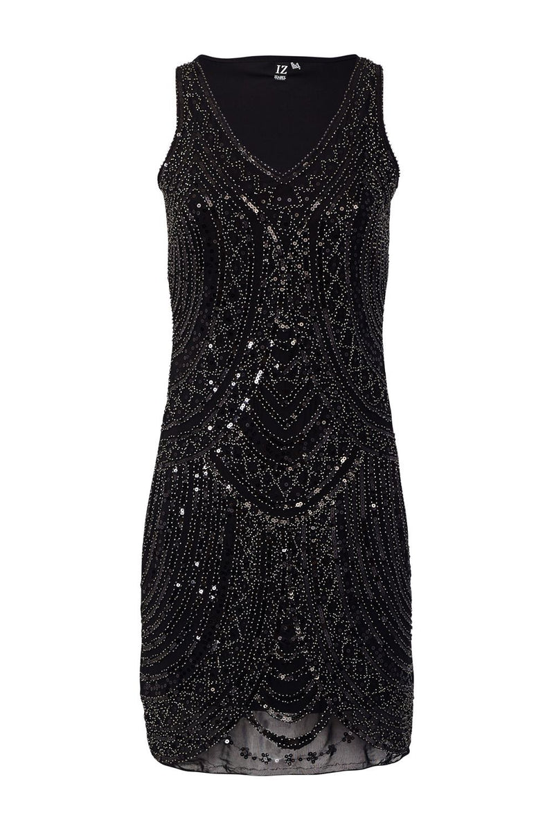 Black | Embellished Bodycon Dress