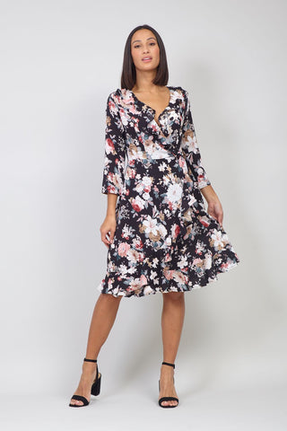 Ditsy Floral Skater Dress