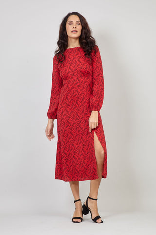 Lace Hanky Hem Dress