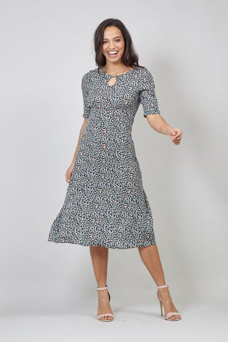 Ditsy Floral Tea Dress