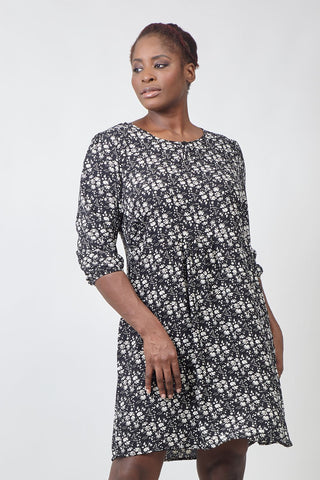 Zip Front Shirt Dress