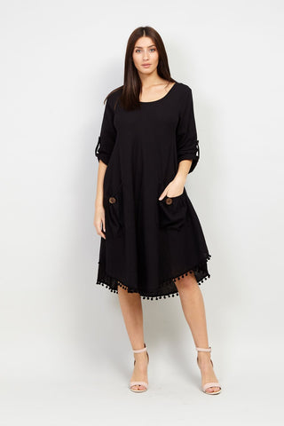 Choker Shift Dress