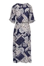 Patchwork Maxi Dress - Izabel London