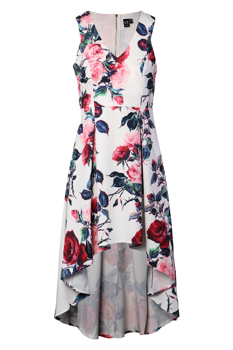 Pink | Floral High Low Dress