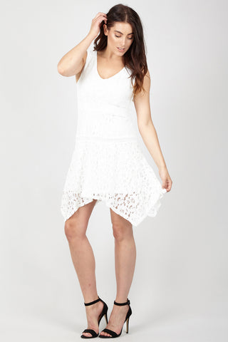 Cut Out Lace Bodycon Dress