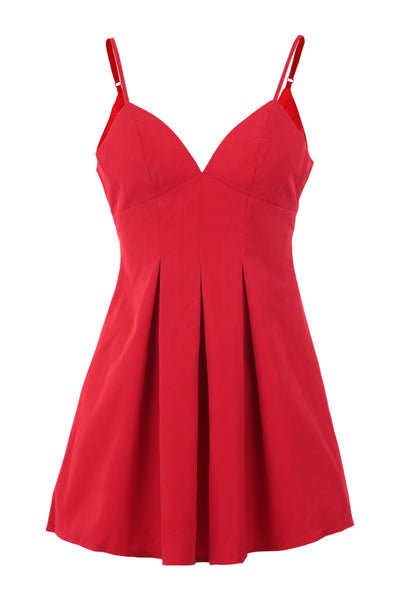 Strappy Slip Dress - Izabel London