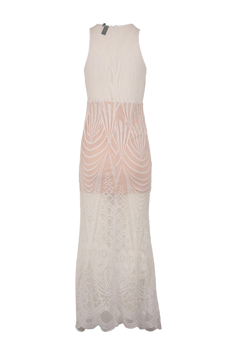 White | Lace Maxi Dress