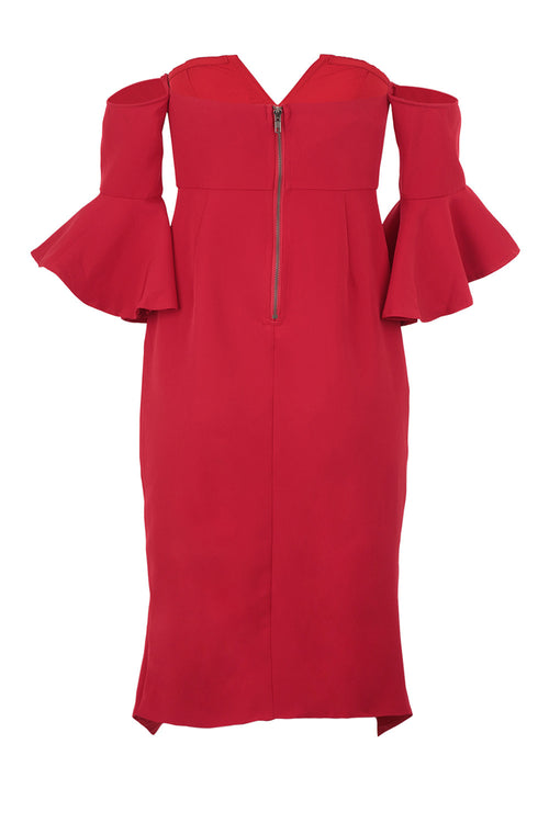 Bardot Wrap Dress - Izabel London