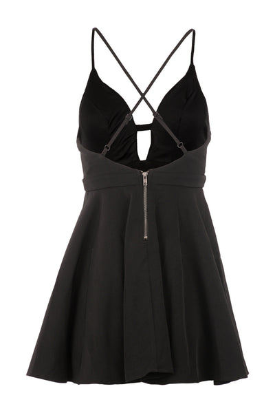 Skater Slip Dress - Izabel London