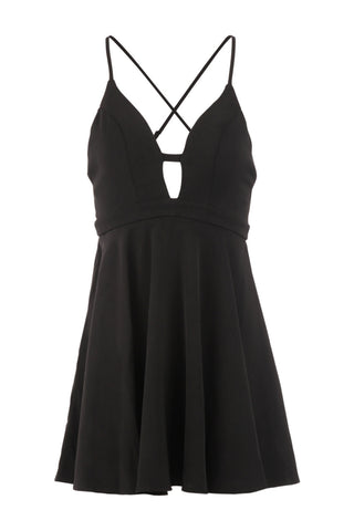 Bust Look Strappy Dress