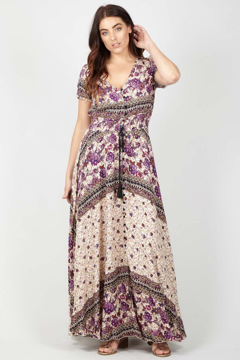 Ditsy Floral Maxi Dress - Izabel London 41ae95afe