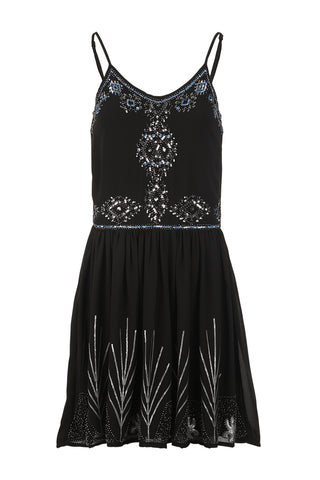 Butterfly & Lace Shift Dress