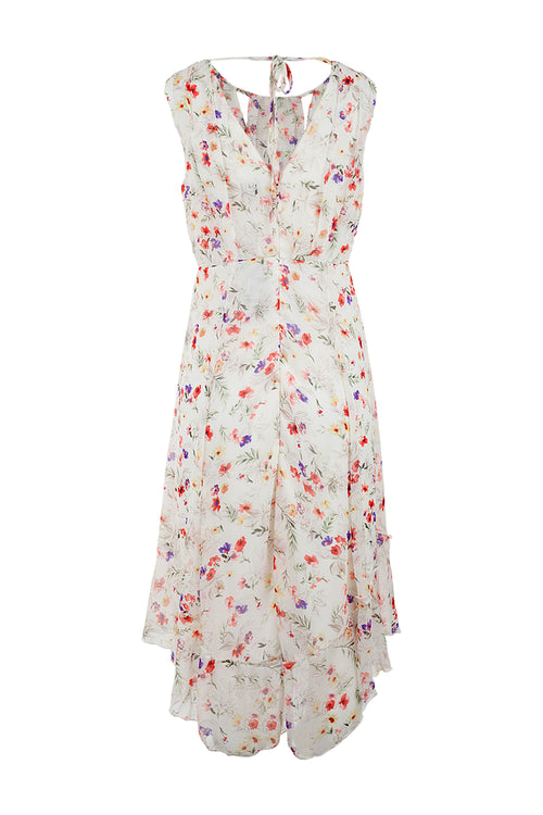 Cut-out Neck Maxi Dress - Izabel London