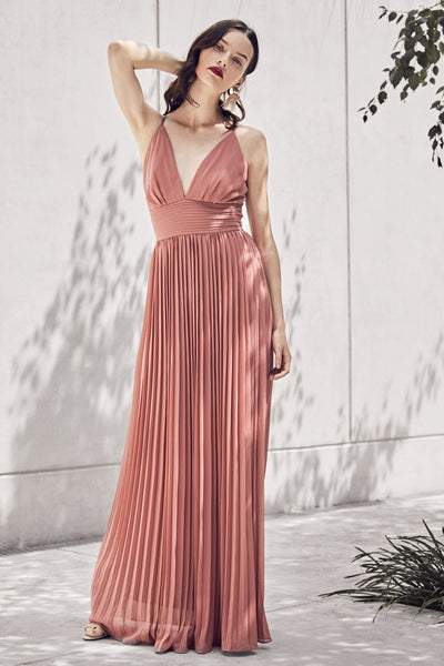 Halterneck Grecian Maxi Dress - Izabel London
