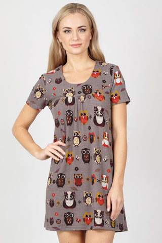 Eastern Print Tunic Dress