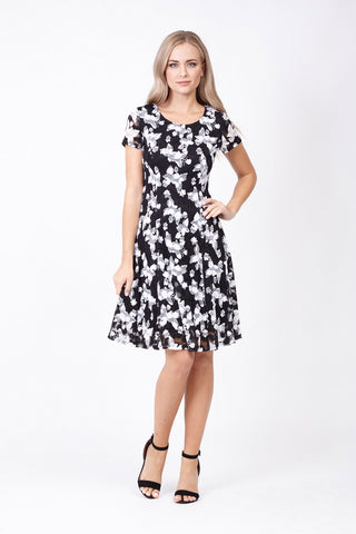 Ditsy Floral Halter Dress