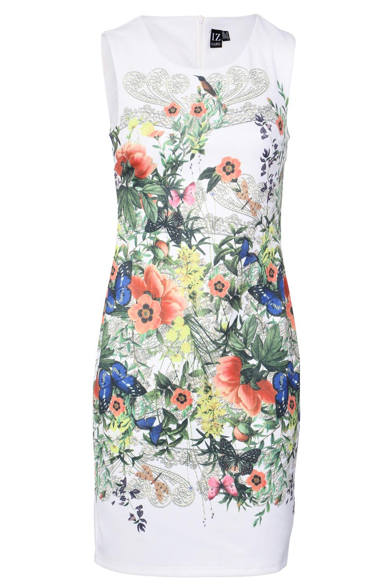 | Floral Shift Dress | Izabel London