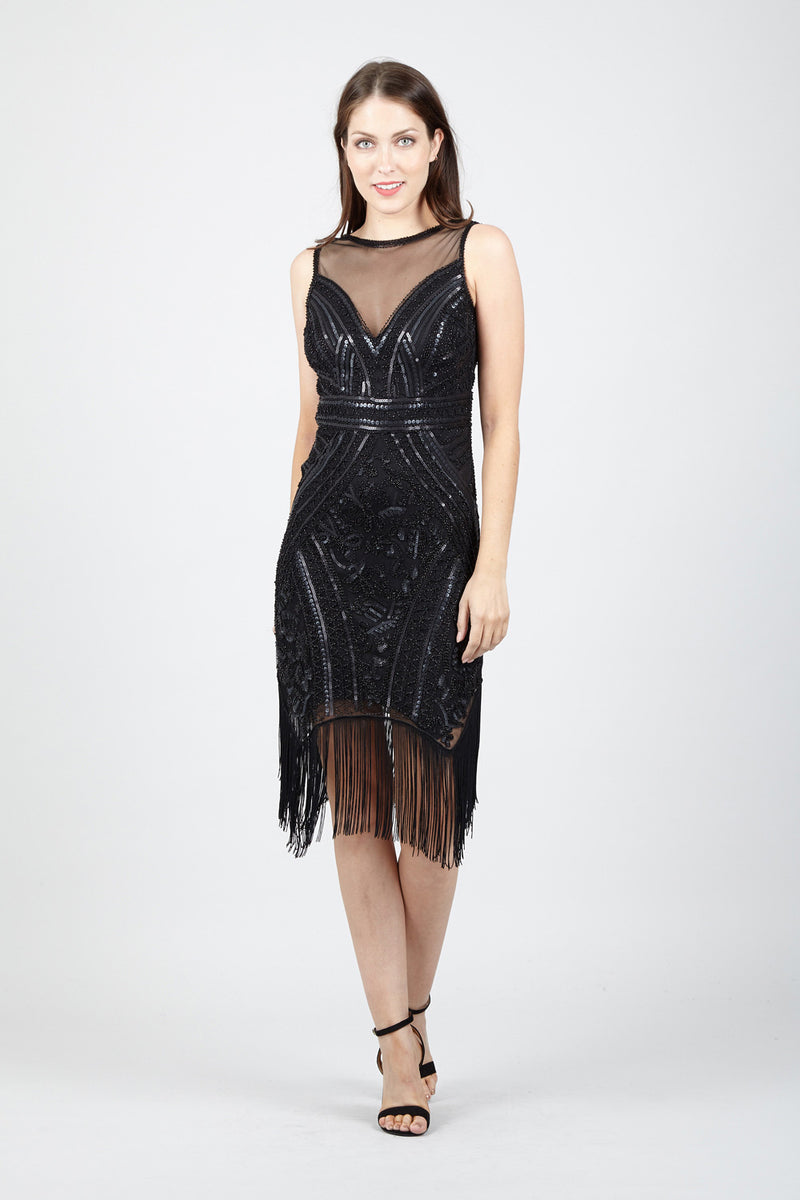 8d3c89ed38d Sequin Flapper Dress - Izabel London