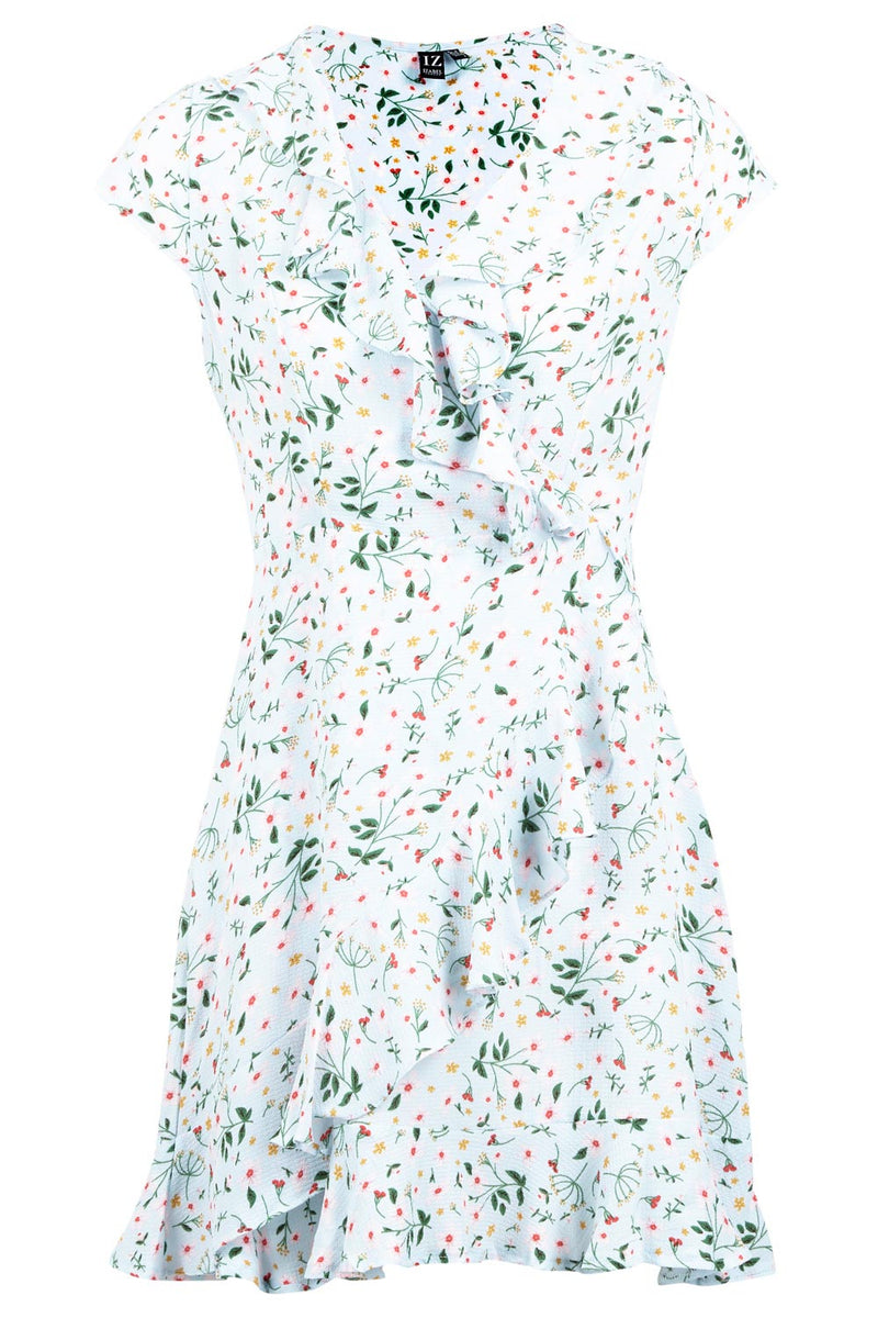 | Ditsy Floral Wrap Dress | Izabel London