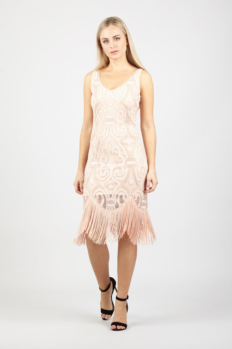Pink | Tassel Fringe Dress