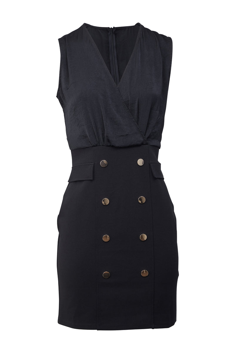 Black | Tailored Blazer Dress