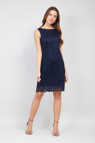 Lace Bodycon Dress - Izabel London