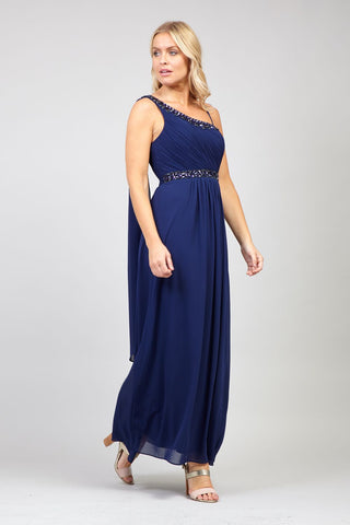 Sequin Split Front Gown