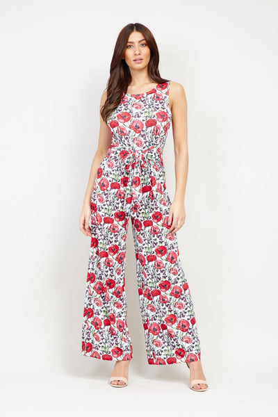 Ditsy Floral Jumpsuit - Izabel London