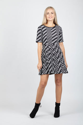 Curve Star Print Tunic Dress