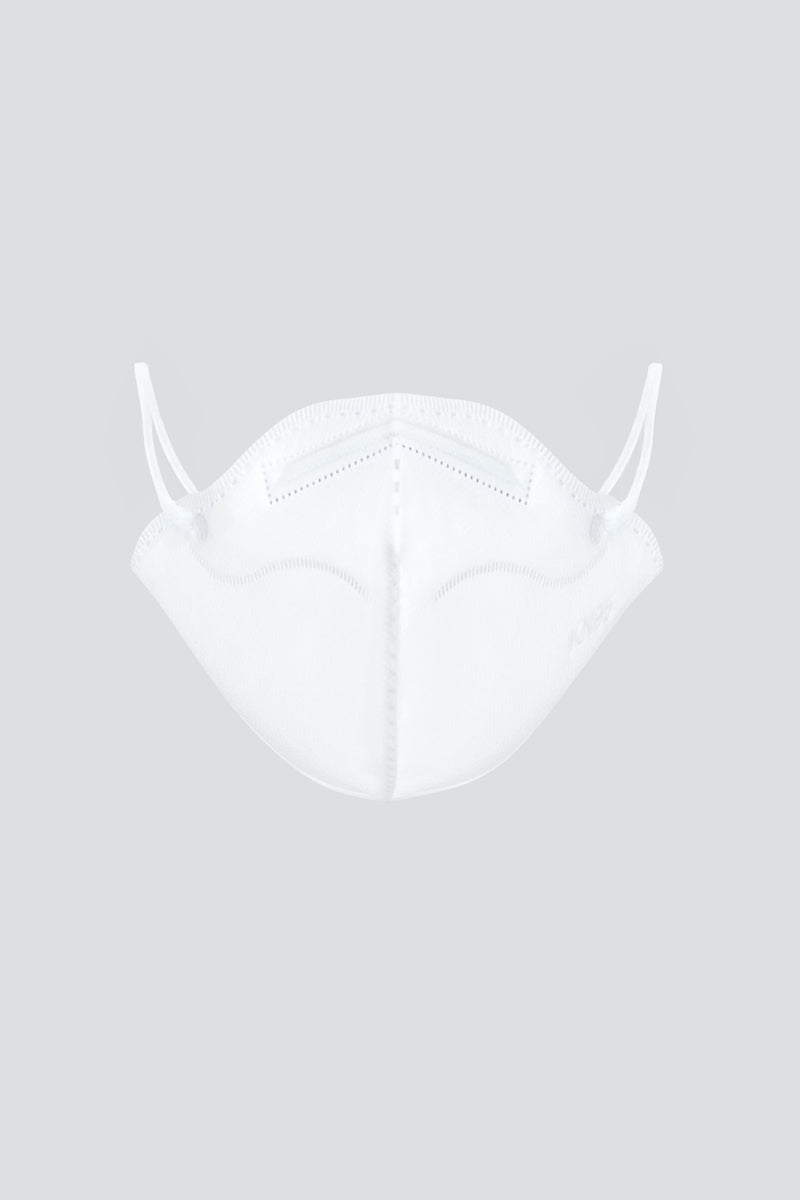 White | Single Use Non-Medical KN95 Face Mask Slimline