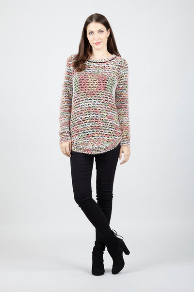 Eyelash Knit Jumper - Izabel London