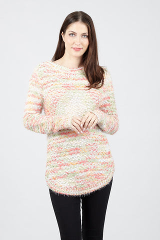 Chunky Jumper With Scarf